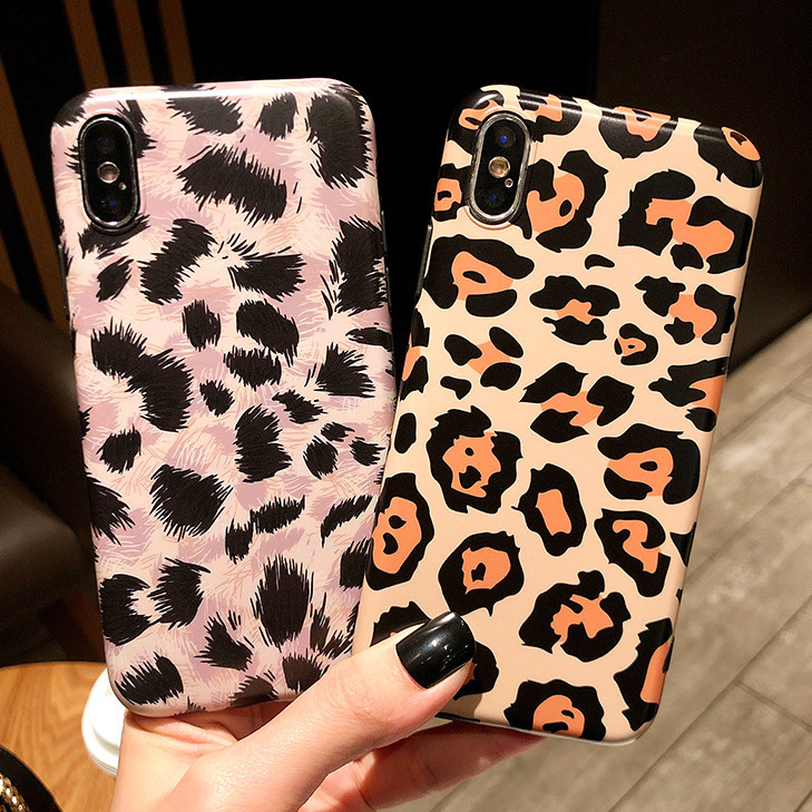Soft shell European and American leopard goddess leopard apple X mobile phone shell 8Plus iPhone7 for Xs max XR