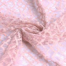 蕾丝面料 抽象股线锦棉蕾丝面料 裙子内衣裤用料