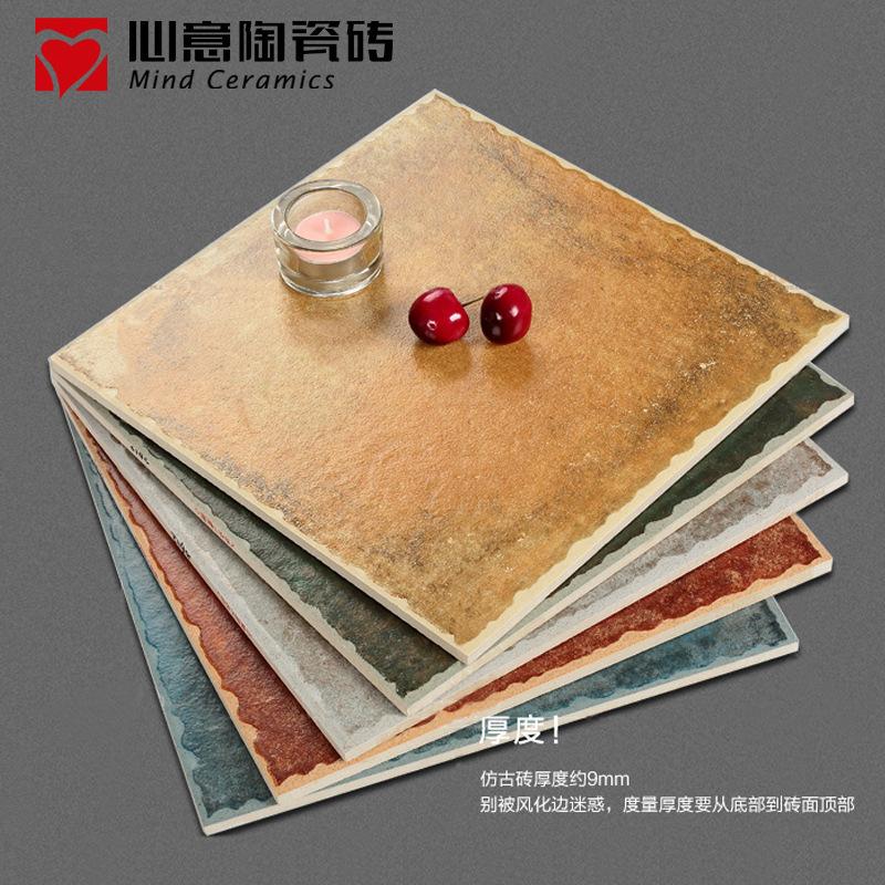 300*300仿古砖阳台卫生间防滑地砖批发地中海系列瓷砖耐磨地面砖