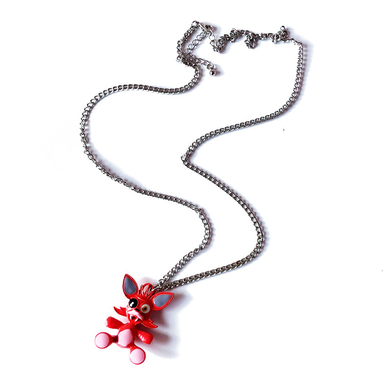 Alloy Korea  necklace  (red) NHOM1106-red