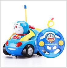 哆啦a梦遥控车KT猫 小纵队 电动遥控汽车儿童玩具车宝宝遥控赛车