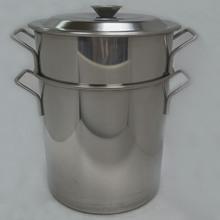 Thép không gỉ đa năng thùng xiên cơ thể xô súp chồng nồi súp cao cơ thể thùng gạo thùng nước muối xô lưu trữ xô đa năng súp Hầm