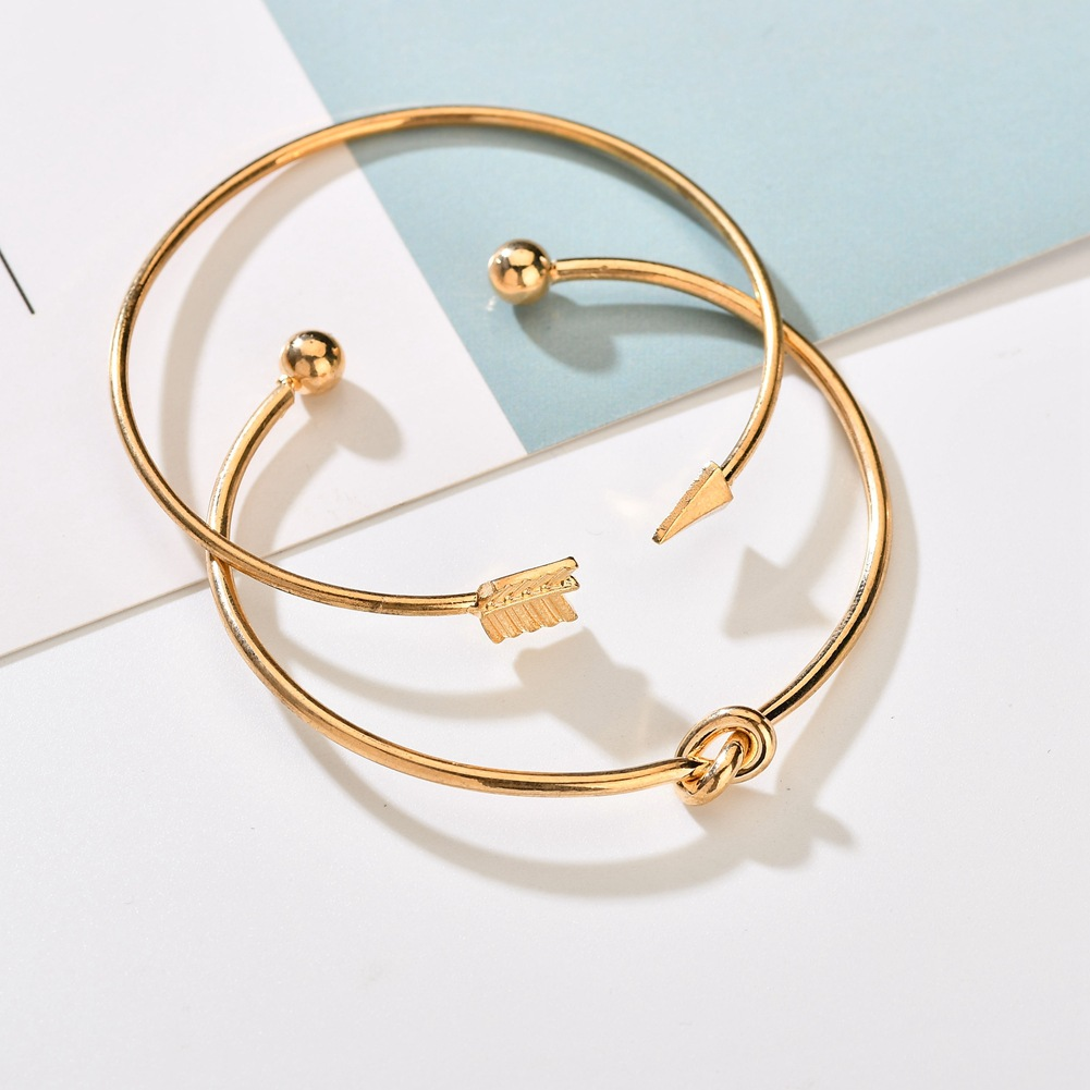 Alloy Fashion Geometric bracelet  (Alloy) NHBQ1379-Alloy