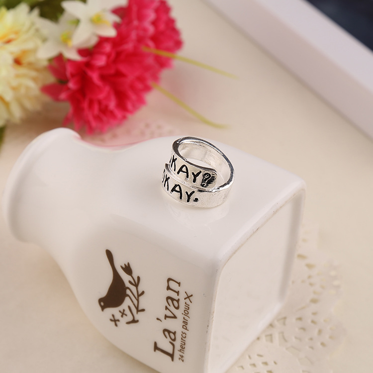 ring wrong star necklace couple ring tail factory wholesale NHMO217040