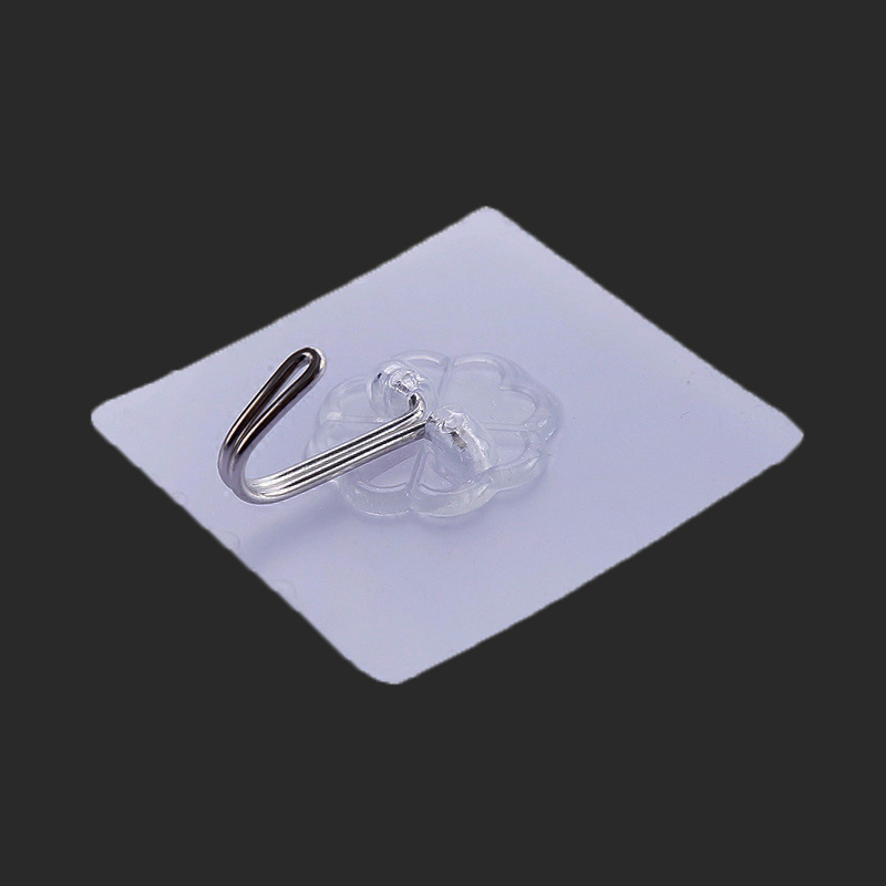 防水透明强力门后粘胶挂钩厨房免钉无痕挂钩墙壁浴室创意粘钩批发