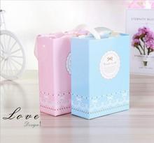 韓版簡約喜糖盒子創意婚禮糖果禮盒定制包裝盒紙盒批發結婚禮盒