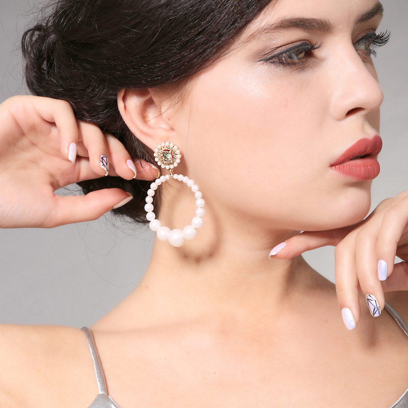 Alloy Fashion Geometric earring(Photo Color) NHQD5111-Photo Color