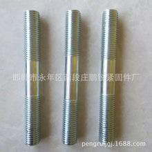 厂家直接现货供应镀锌双头螺栓m6*110-8*220双头螺栓 4.8级碳钢