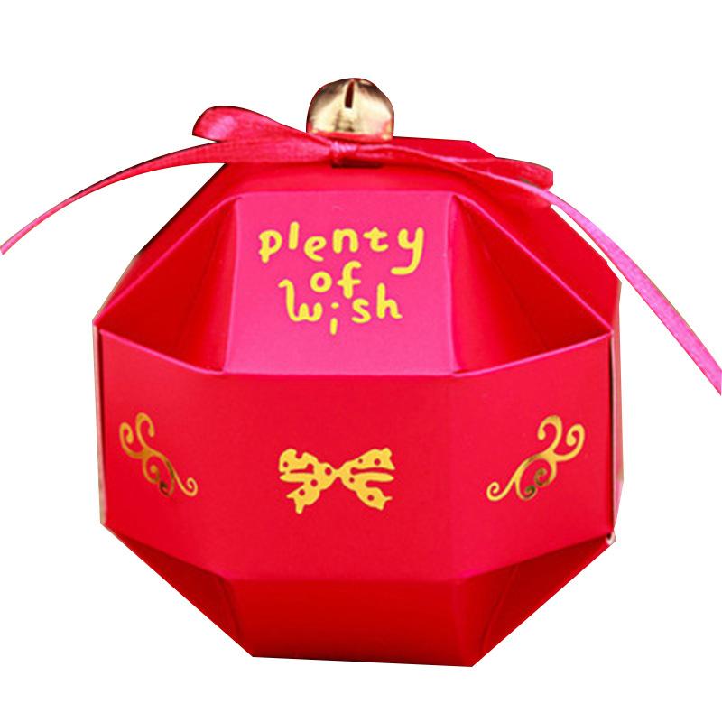 八面玲珑球小号颜色可选 爆款畅销糖果盒批发 高档经典喜糖盒