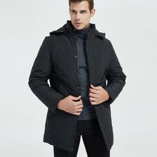 2018冬季男装棉衣中老年中长款加厚棉袄保暖外衣中年爸爸冬装外套