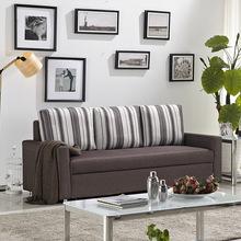 小户型沙发床多功能客厅可折叠可拆洗推拉式双人坐卧两用沙发