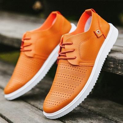 Giày nam mùa hè lỗ lưới lưới thoáng khí giày rỗng giày thường của nam giới Hàn Quốc phiên bản của xu hướng hoang dã chống trượt giày người đàn ông