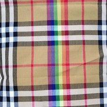 全棉色织格子布 苏格兰围巾格子校裙衬衫面料 格子衬衫布料全棉面料布料