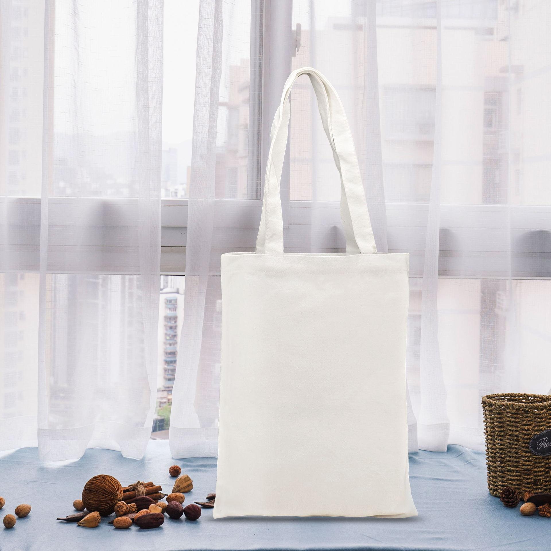 帆布袋定做印 logo棉布手提环保购物袋定制全涤棉款帆布袋加印