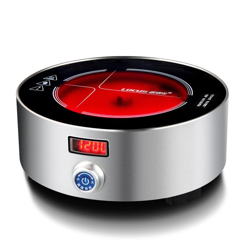 厂家批发诺洁仕L3电热泡茶烧水煮茶器 迷你光波家用小电陶炉茶炉