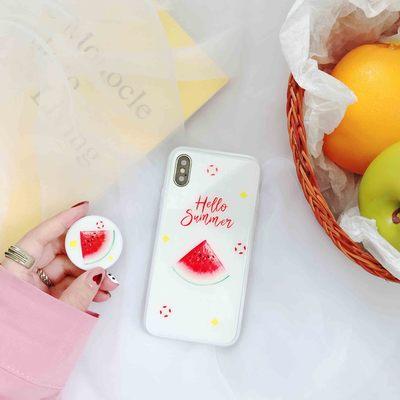 Trái cây mới oppor15 Vỏ thủy tinh iPhone 8 Vỏ điện thoại di động 7 Kính cường lực Apple x Bìa 5.30
