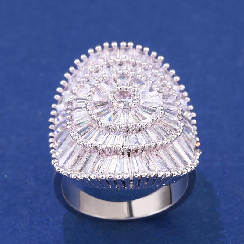 Alloy Fashion Geometric Ring  (Alloy-7)  Fashion Jewelry NHAS0447-Alloy-7