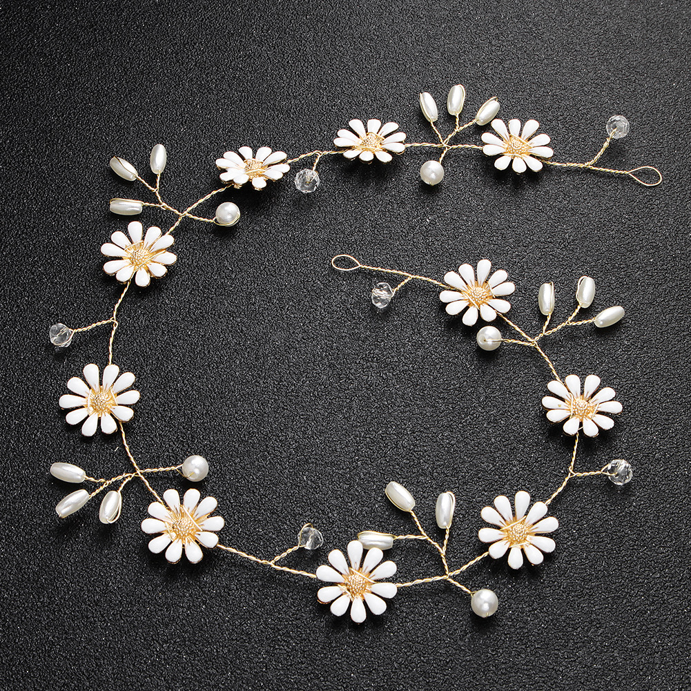 Alloy Fashion Flowers Bridal jewelry  (Alloy) NHHS0508-Alloy