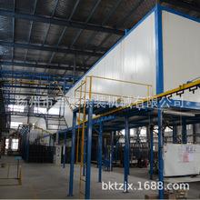厂家直销 粉末涂装设备 工件粉末固化涂装生产线 静电喷涂流水线