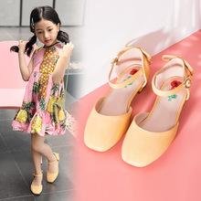 Sandals bé gái, thiết kế đơn giản, màu sắc trang nhã năng động