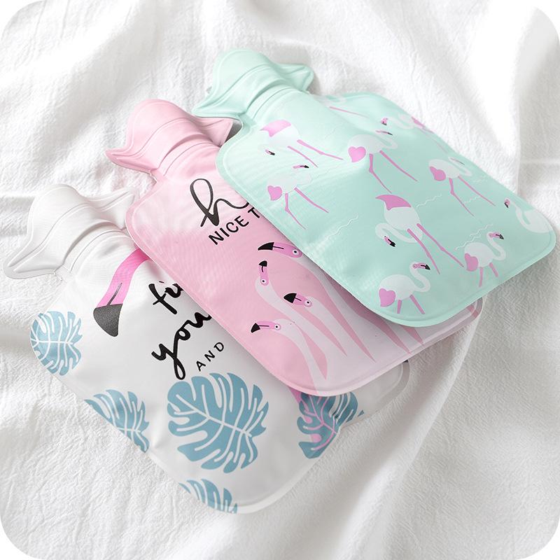 2116卡通可爱小型热水袋 注水防爆暖手宝 充水痛经暖水袋