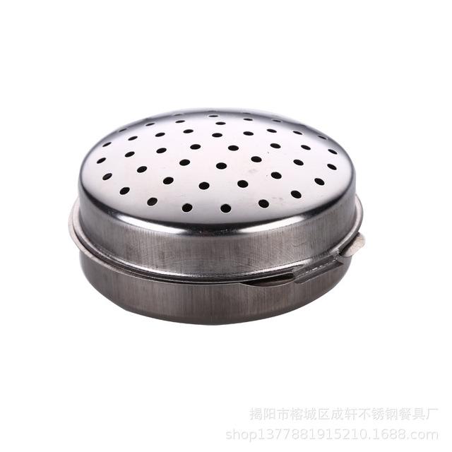 Hương vị-hương vị-hương vị kho báu bóng hộp nêm thép bóng không gỉ tiện ích nhà bếp súp hương vị kho báu nhà bếp Lọ gia vị