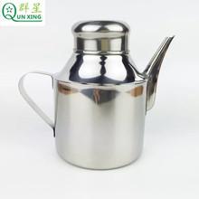 廠家直銷 不銹鋼油壺 短嘴壺 多用壺批發 防漏型醬油醋調料壺