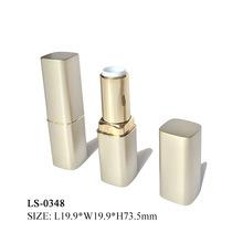 口红管平口唇膏管镀金口红瓶化妆品包材容器 口红容器管唇膏壳厂