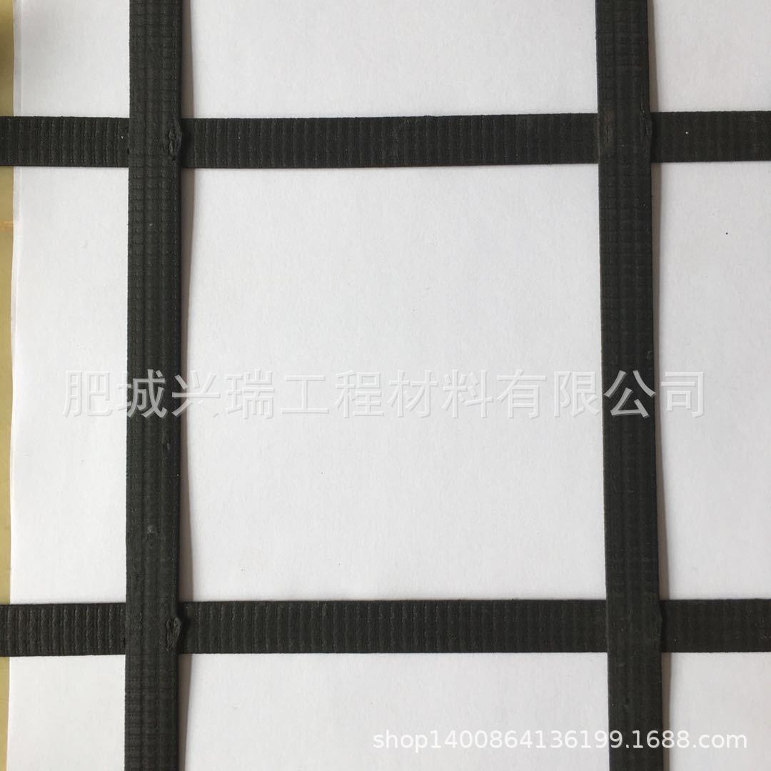 兴瑞厂家路基护坡钢塑土工格栅 玻纤涤纶单向双向拉伸塑料
