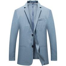 男式商务西服修身高档职业西装套装男两件套定制职业正装休闲礼服