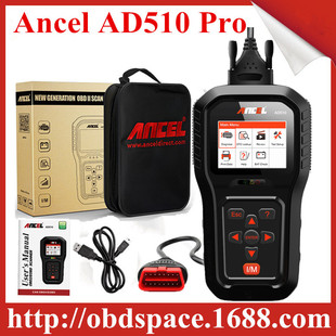 Ancel AD510 Pro OBD2 Car Engine Diagnostic Scanner OBD 2