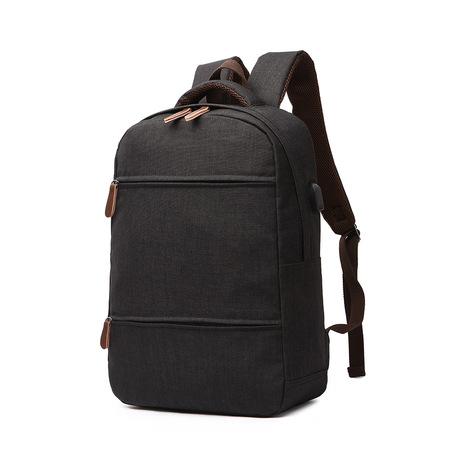 Makino ba lô chống văng sạc USB Thiết kế thời trang Túi đựng laptop du lịch Túi sinh viên