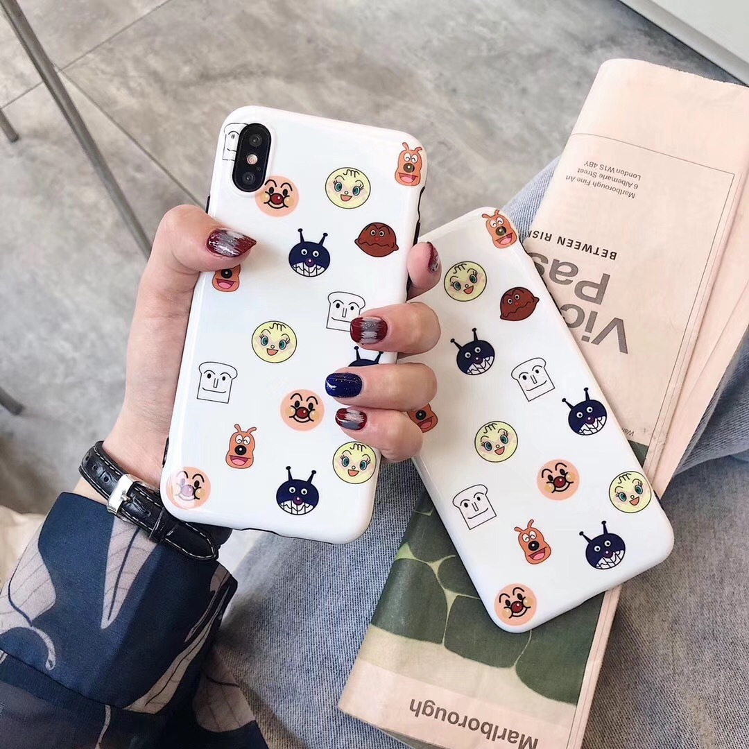 Ins bread superman apple xs max mobile phone shell iphone78plus soft silicone 6.5 couple creative cartoon