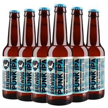 英國進口 BrewDog釀酒狗朋克IPA英式印度淡色艾爾啤酒330ml*24瓶