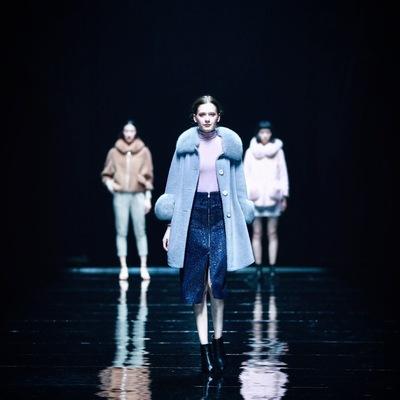 2018冬季新款女装皮草黄金绒水貂领时尚大牌潮流个性女人味