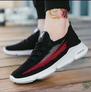 Giày nam xu hướng mới 2018 thời trang Giày thể thao nam giản dị thoải mái Phiên bản giày chạy bộ Hàn Quốc