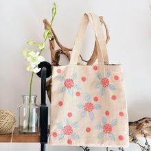 双层简易手提包 手工DIY?#23478;?#21253;包制作材料包 欧式刺绣绣花套件