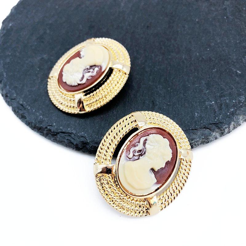 Alloy Fashion  earring  (Earrings) NHOM1276-Earrings