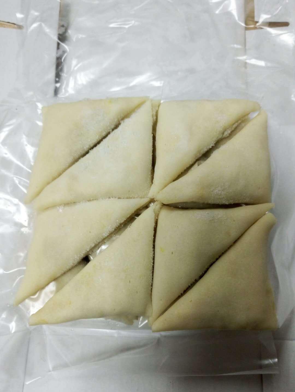 出口热门产品咖喱角三角饼  酒店餐厅专供油炸冷冻食品  茶点心
