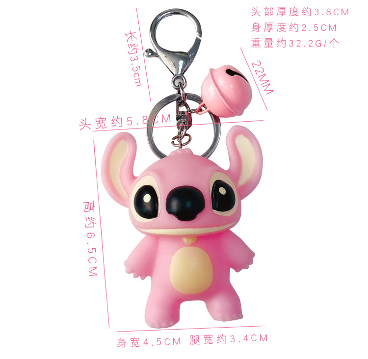 Plastic Fashion Cartoon key chain  (1) NHBM0478-1