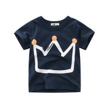 2021夏裝新款男童短袖t恤衫 兒童體恤 韓版童裝批發kid clothing