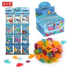 泰国进口SUNHUPSING/尚合兴快乐海洋软糖 橡皮糖水果软糖批发