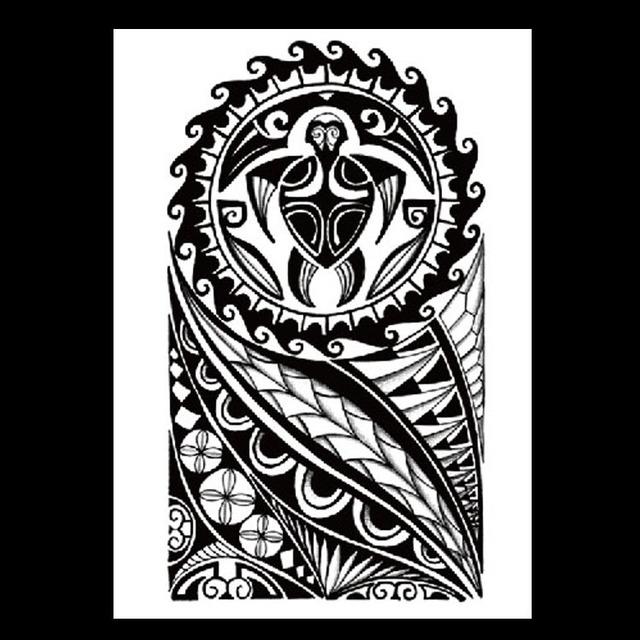 欧美热销花臂纹身贴 社会人纹身贴 动物图案纹身贴 半臂纹身贴