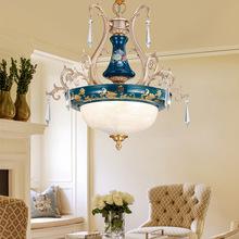 美式吊灯阳台过道走廊玄关楼梯衣帽间灯欧式现代简约单头水晶灯具
