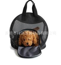 深圳廠家定制多功能透氣網外出便攜式寵物狗狗貓咪手提背包袋1