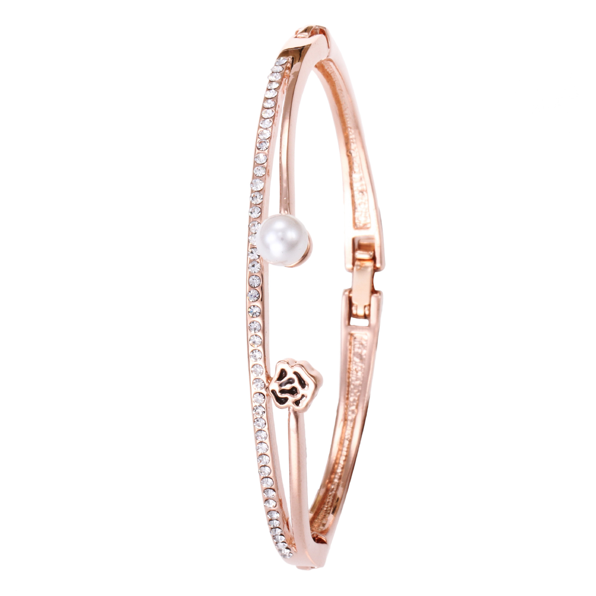 Alloy Fashion  bracelet  (1-rose alloy)   NHMM2295-1-rose-alloy