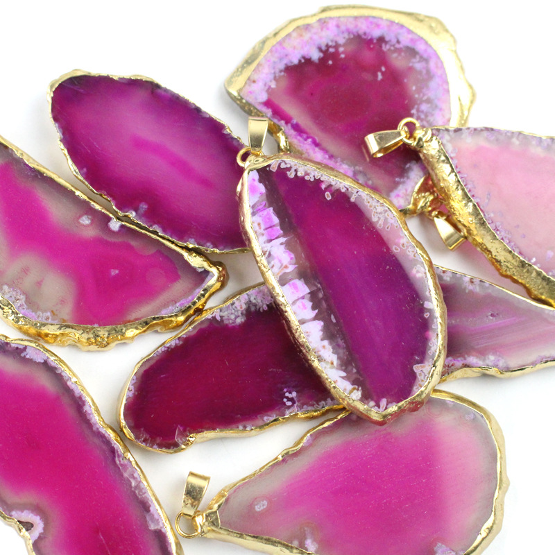 Rose red agate does not contain a chain.jpg