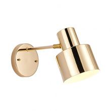 黄铜色壁灯简约个性北欧卧室床头咖啡厅过道壁灯卫生间全铜镜前灯