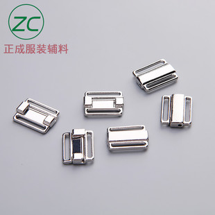 Stock Bra buckle front buckle hardware jewelry buckle alloy plating press buckle factory direct sales