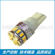 湘亿晨 热销款 LED汽车灯 T10 18SMD 3014  指示灯 示宽灯 定制